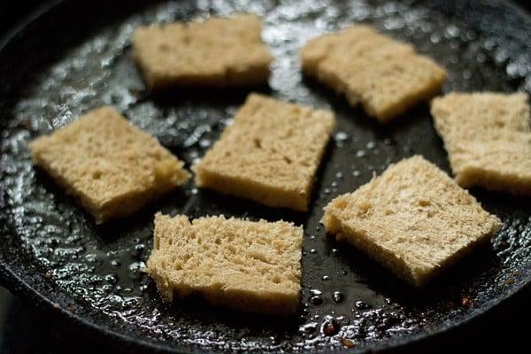 bread slices for shahi tukra recipe