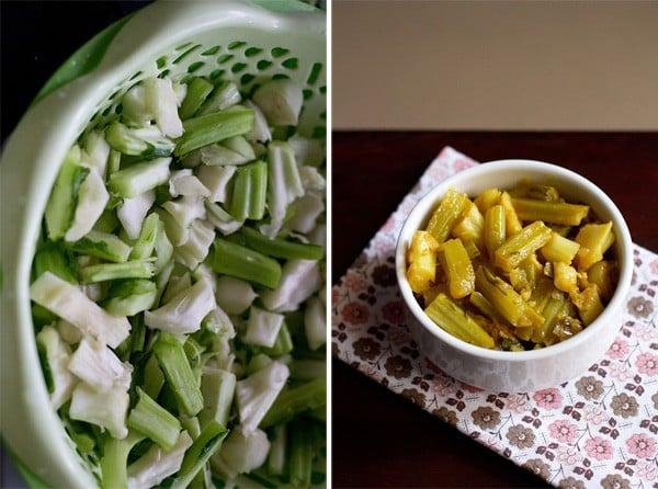 gobi danthal Punjabi recipe