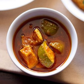 gujarati mango pickle recipe, gujarati methia keri pickle recipe