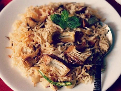 kathal pulao recipe