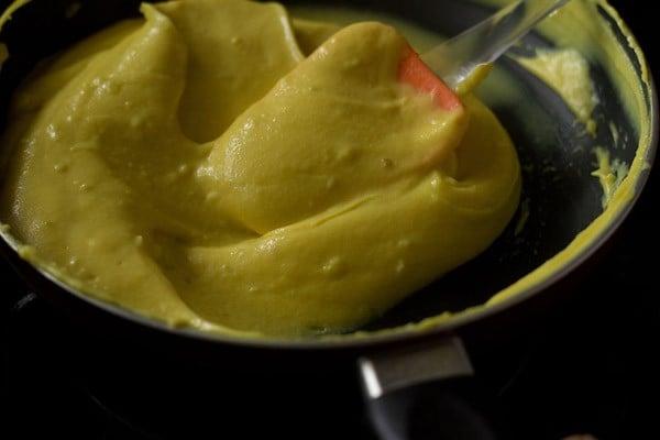 making khandvi batter