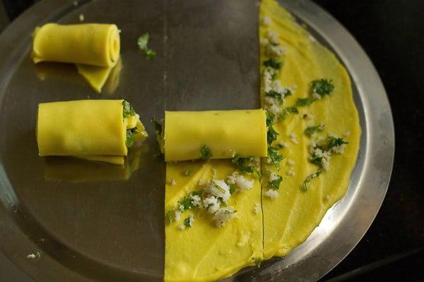 gujarati khandvi recipe
