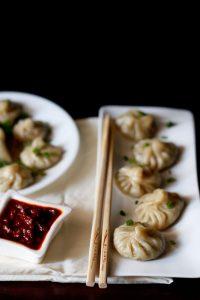 veg momos recipe, how to make vegetable momos recipe stepwise