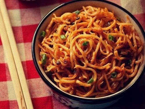 Schezwan Noodles Recipe How To Make Schezwan Noodles Recipe