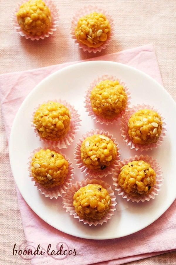 boondi ladoo recipe, how to make boondi laddu | boondi ke ladoo