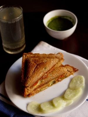 veg cheese sandwich recipe, cheese toast sandwich recipe