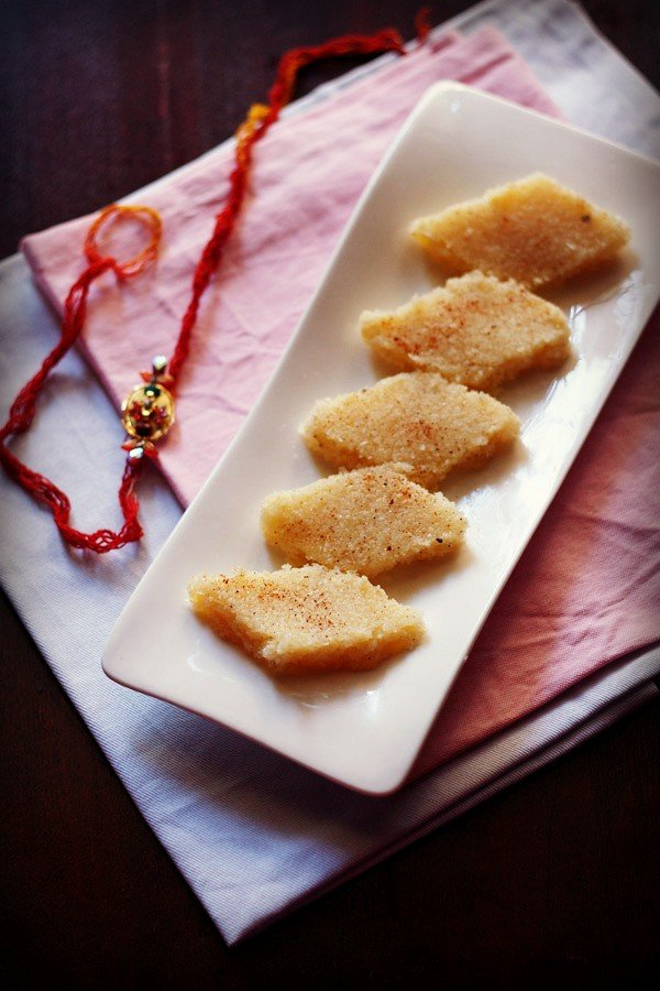 coconut barfi recipe, nariyal barfi recipe