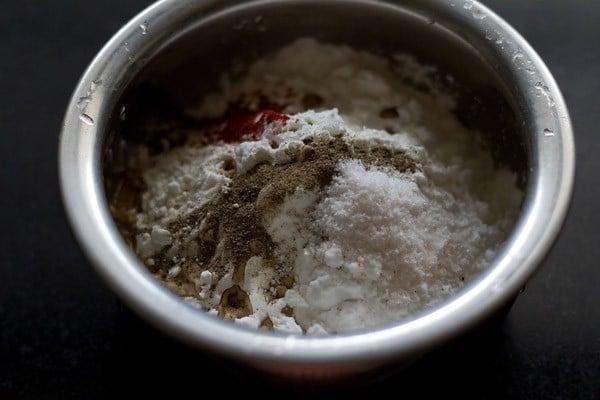 ingredients for gobi manchurian recipe