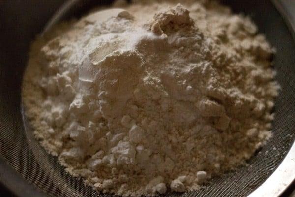 whole wheat flour for make orange cookies