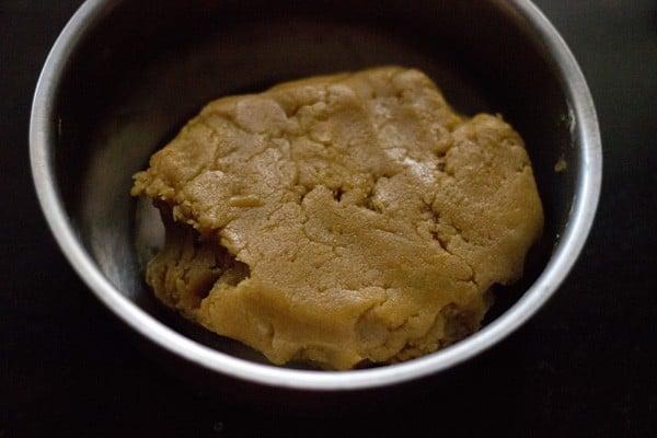 orange crinckle cookies dough