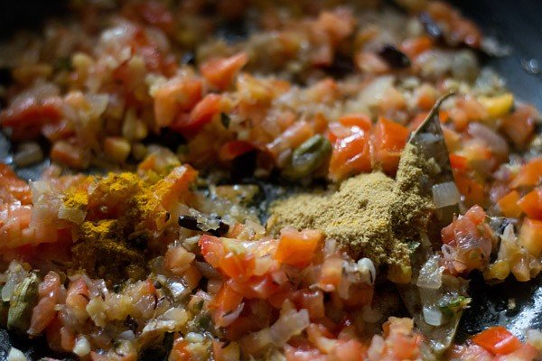 spices for making gobi matar masala recipe