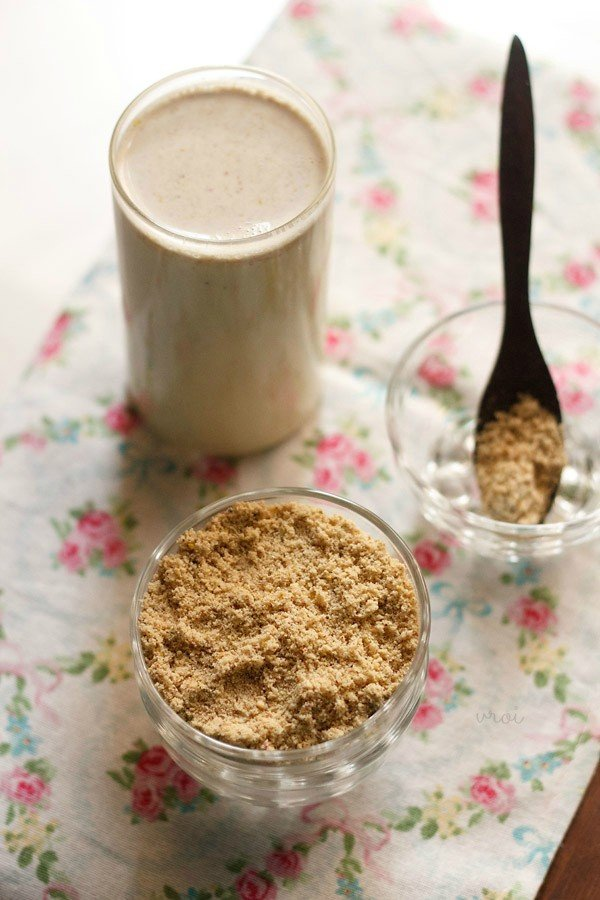 masala milk powder recipe, how to make masala doodh powder recipe