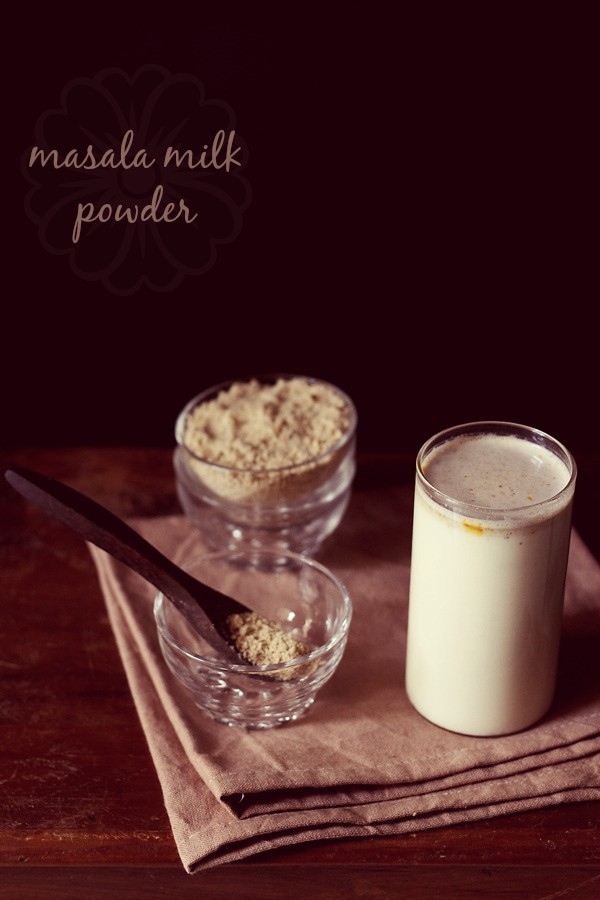 milk masala powder recipe