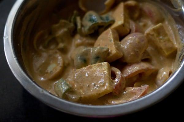 marinating paneer for tikka recipe
