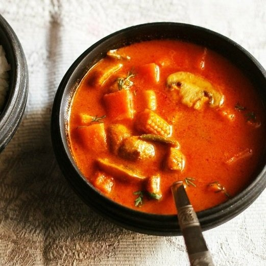 vegetable curry recipe, veg curry recipe