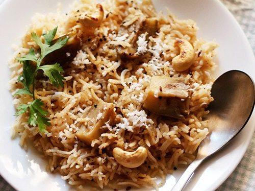 vangi bhaat recipe