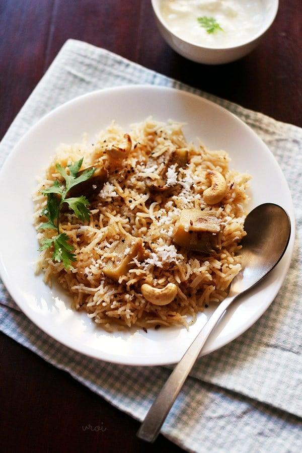 maharashtrian vangi bhaat recipe