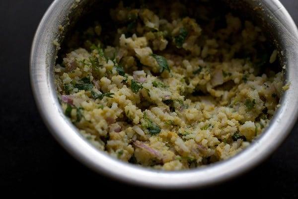 rice pakora batter