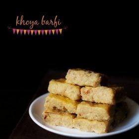 barfi recipe