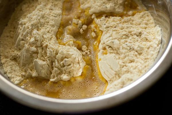 add butter to make chakli recipe