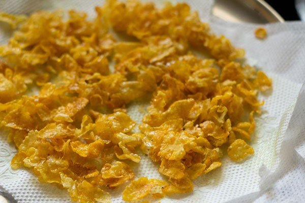 golden & fried cornflakes