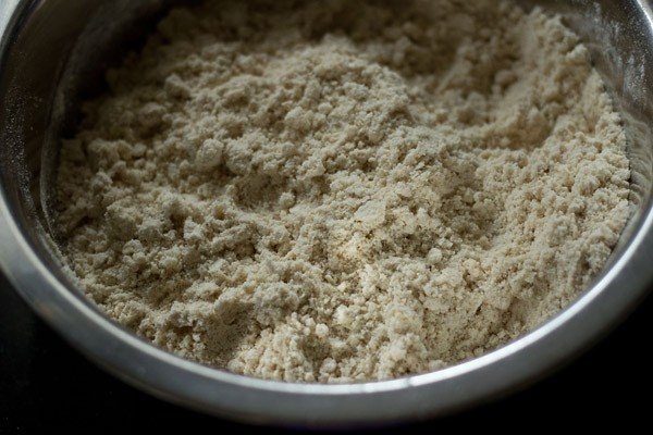 flour mixture for making gujiya recipe