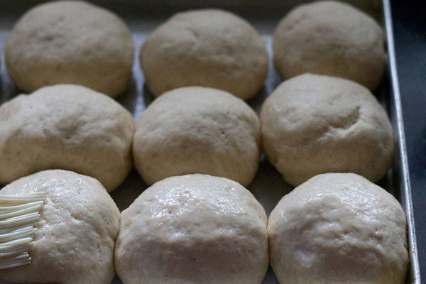 brush milk on bombay laadi pav bread recipe