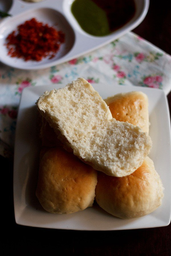 bombay pav recipe, how to make mumbai laadi pav bread recipe