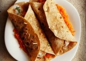 aloo tikki wrap recipe