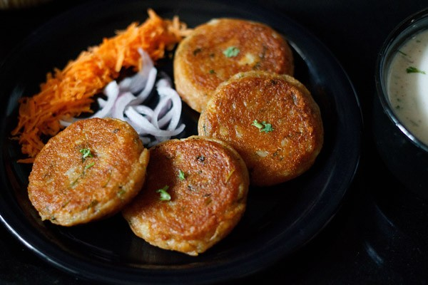aloo tikkis for frankie recipe