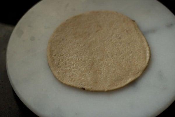 rolling bread bhatura recipe