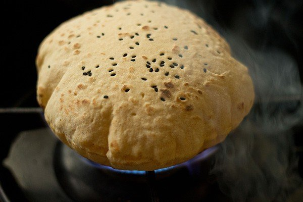 butter naan recipe with nigella seeds