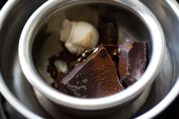 chocolate for banana chocolate mousse recipe