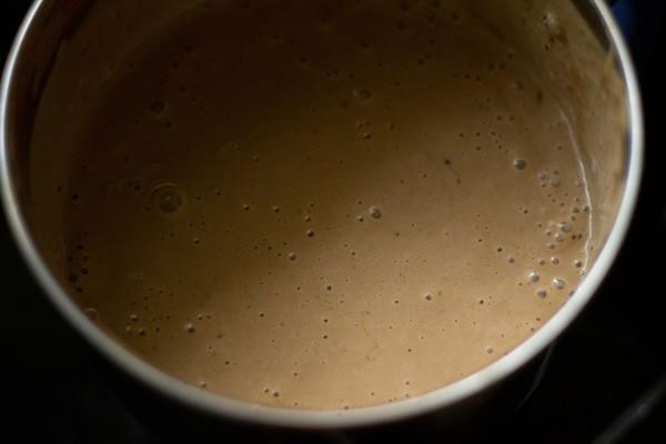 banana cream mixture for mousse recipe