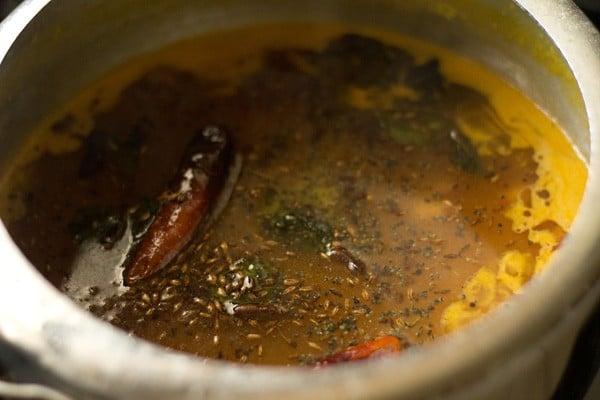making gujarati dal recipe