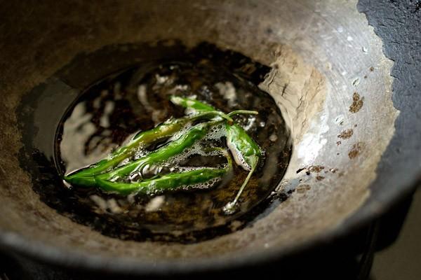 oil for kadai chole recipe