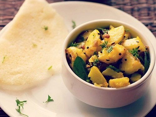 potato curry recipe for masala dosa