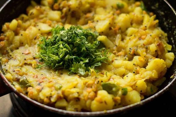 potato masala for masala dosa recipe