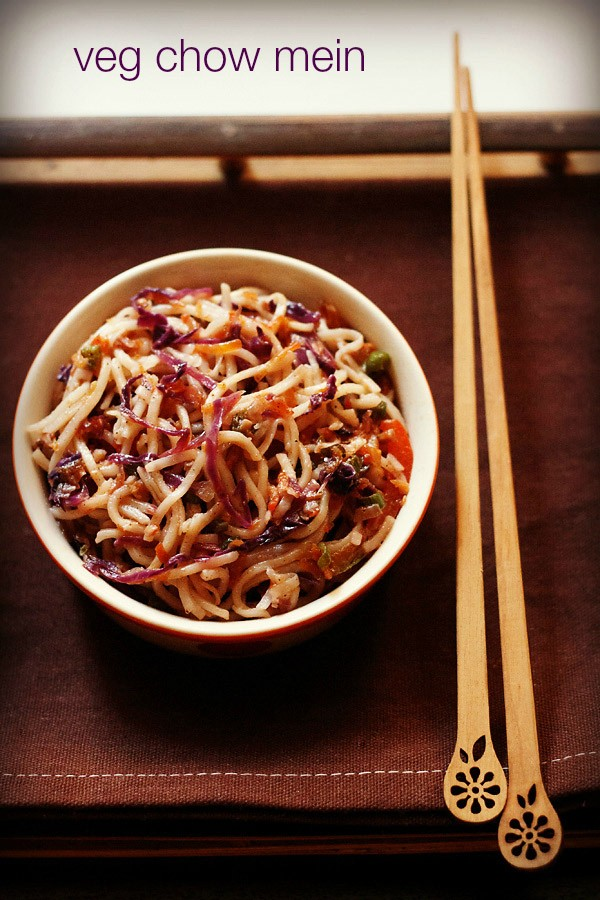 veg chow mein recipe, how to make vegetable chow mein recipe