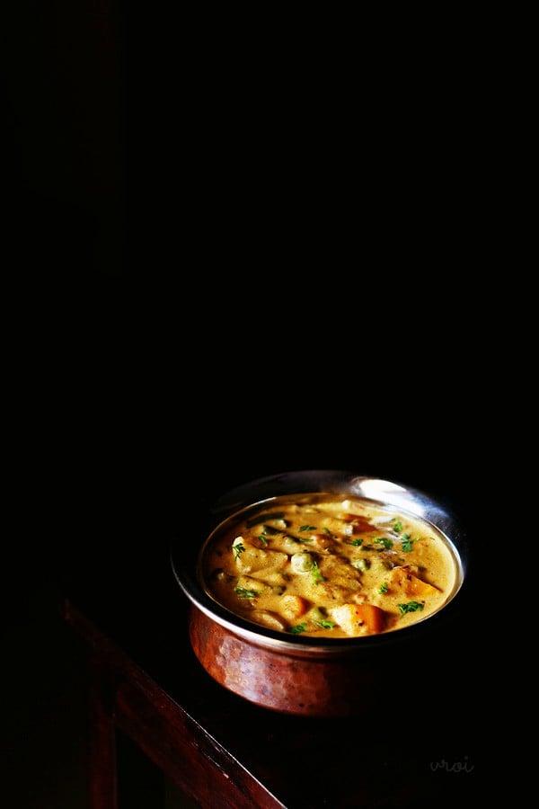 veg handi recipe, vegetable handi recipe