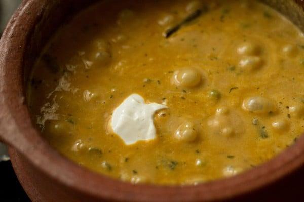 cream for veg handi recipe