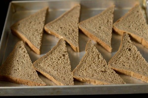 bread slices for bread pizza recipe