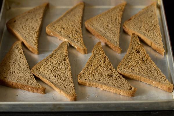 bread slices for pizza recipe