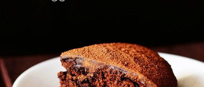 eggless chocolate cake recipe, how to make eggless chocolate cake