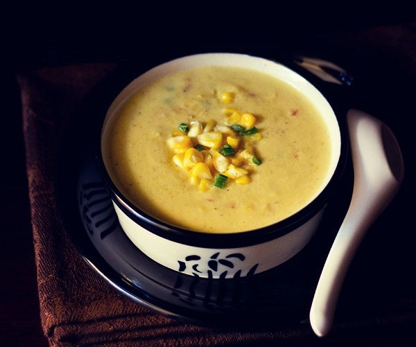 corn vegetable soup recipe