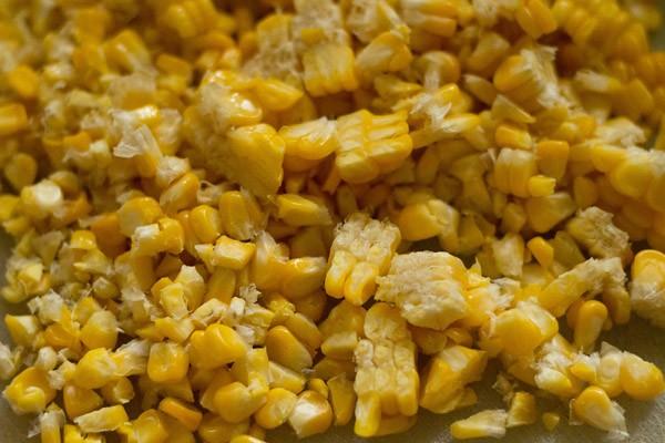 corn kernels to make veg sweet corn soup recipe