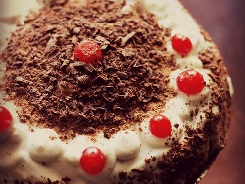 Indian Eggless Black Forest Cake Recipes