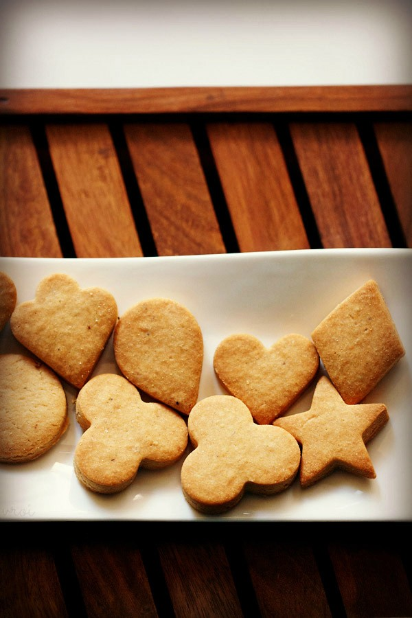 wholewheat butter cookies