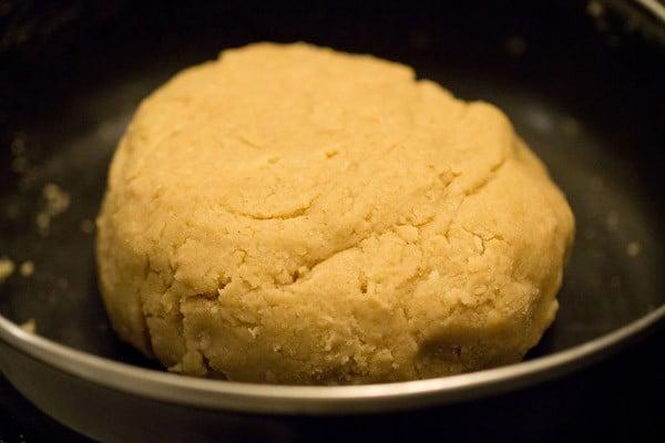 eggless butter cookies dough