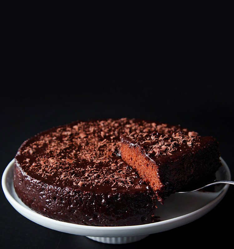 Eggless Chocolate Cake No Butter No Eggs Whole Wheat